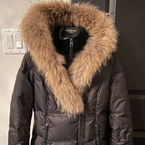 Mackage down coat with signature fur collar